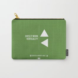 Perfect Logo Series (1 of 11) - Green Carry-All Pouch