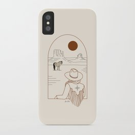 Lost Pony - Rustic iPhone Case