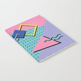 Memphis Pattern 14 - 80s Retro Notebook