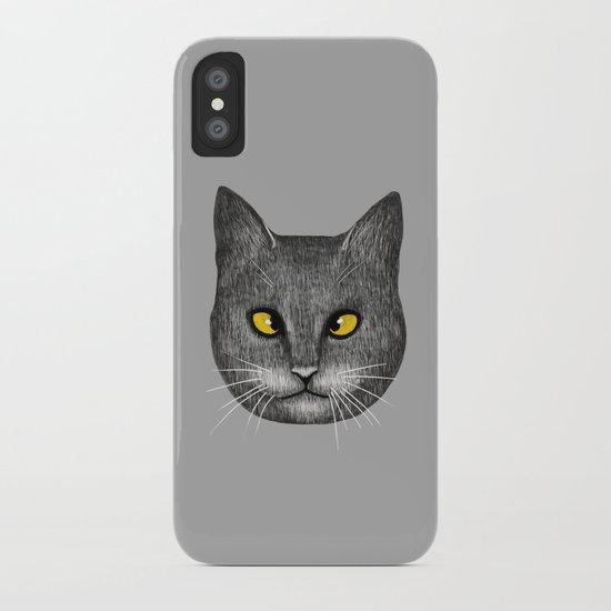 Cross Eyed iPhone Case