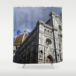 "Sant Maria Del Fiore ""Duomo"" of Florence, Italy Shower Curtain"