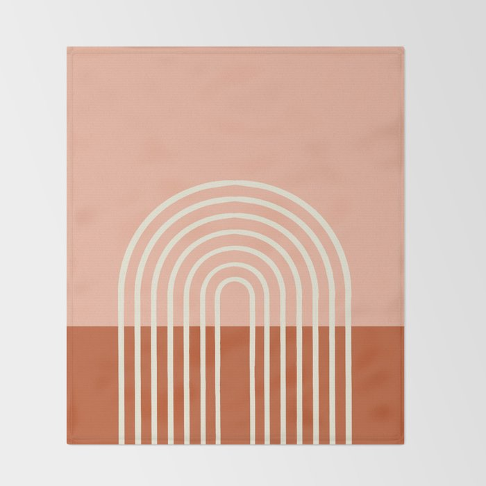 Terracota Pastel Throw Blanket