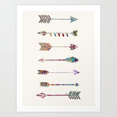 seven arrows Art Print