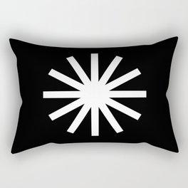 Asterisk Rectangular Pillow