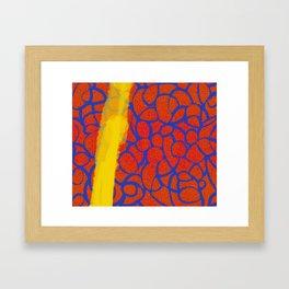 Knitty Gritty Framed Art Print