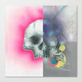 fourartist'sskull Canvas Print