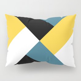 Triangles and stripes Pillow Sham