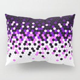 Flat Tech Camouflage Reverse Purple Pillow Sham