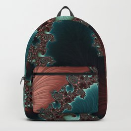 Velvet Crush - Teal/Copper Backpack