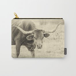 The Texas Longhorn Carry-All Pouch