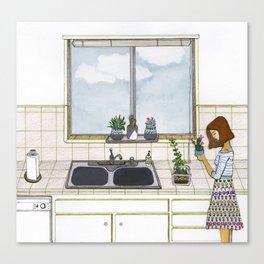 Plant Mom Canvas Print