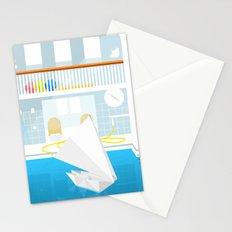 ORIGAMI CATAMARAN Stationery Cards