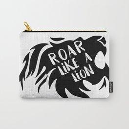 Roar Like a Lion! Carry-All Pouch