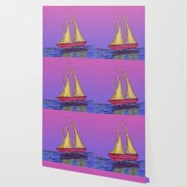 Funky Boat Wallpaper