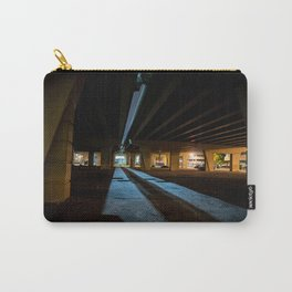Milwaukee Freeway Bridge at Night Carry-All Pouch