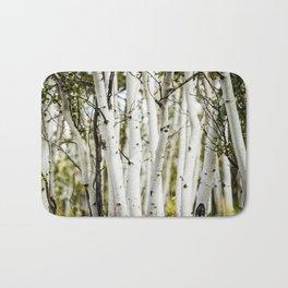 Colorado Mountain Photos - Aspen Trees Bath Mat