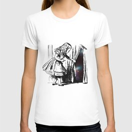 Alice Discovers the Universe T-shirt