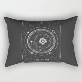Minimal Tarot  Deck The Star Rectangular Pillow