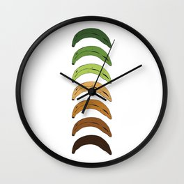 Platano Stages Wall Clock