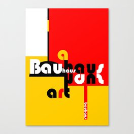 Bauhaus Lamp Canvas Print