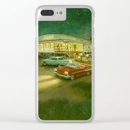 Rock Around The Clock-1950's Clear iPhone Case