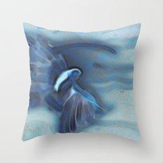 Moon Faerie Throw Pillow