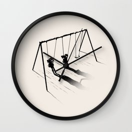 I'm In Lesbians With You Wall Clock