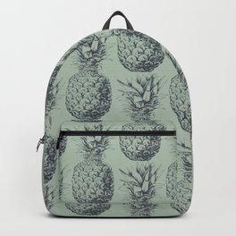 Pineapple, tropical fruit pattern design Backpack