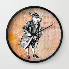 Dactari Donkey Wall Clock