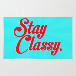 Stay classy. Rug
