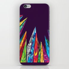 Up to the mountains iPhone & iPod Skin