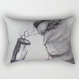 Anonymous Toker Rectangular Pillow