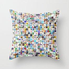 DrawSomethings 333 Throw Pillow