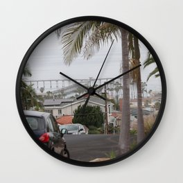 Grey Day Wall Clock