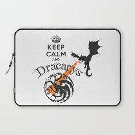 Keep Calm and Drakarys Laptop Sleeve