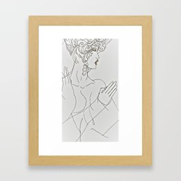Zeke Woman Framed Art Print