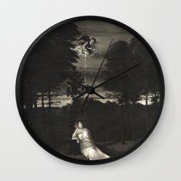 A Maidens Dream. Lotto. Wall Clock