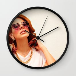 Lana Del Rey5 Wall Clock