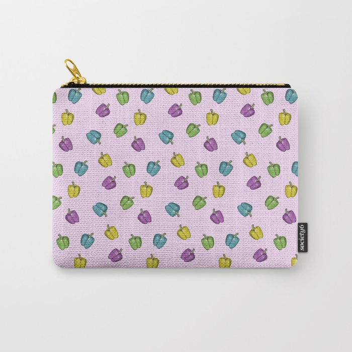 Autochrome Watercolour Pepper Pattern  Carry-All Pouch