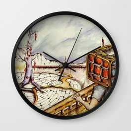 """Cubical"" Wall Clock"