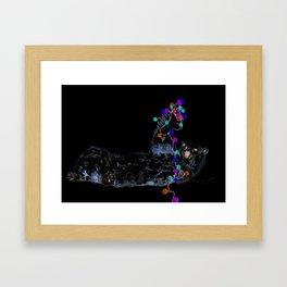 A Beary Christmas! Framed Art Print