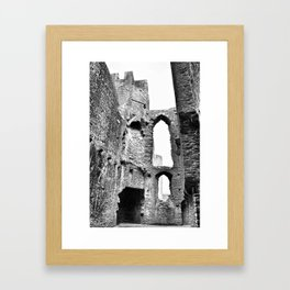Caerphilly Castle Wales 2 Framed Art Print
