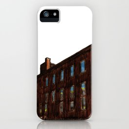 LACHINE RAPIDS HYDRAULIC AND LAND COMPANY KANDER PAPER STOCK COMPANY LTD. iPhone Case