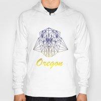 oregon Hoodies featuring Oregon by ArtsyKiwi