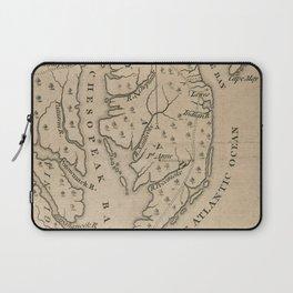 Vintage Map of The Chesapeake Bay (1769) Laptop Sleeve