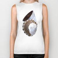 shells Biker Tanks featuring Shells by Jan4insight