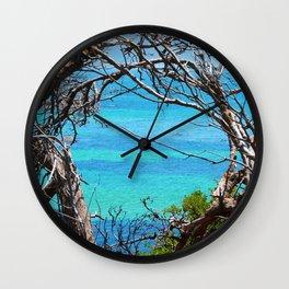 Simons Window Wall Clock