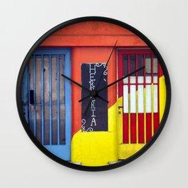 Blacksmith's Workshop, La Boca, Buenos Aires Wall Clock