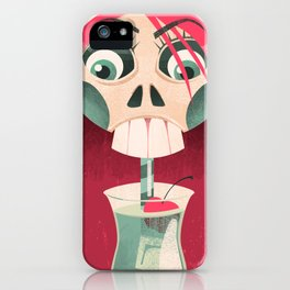 The Deadliest Sip iPhone Case