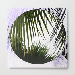 Freaking Palms Metal Print